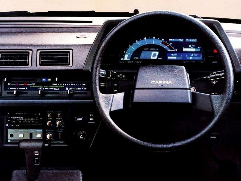 Toyota Carina T150JDM 4 door sedan. 1.8 AT Overdrive (1984–1986)