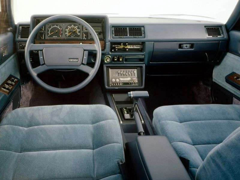 Toyota Cressida X60US Spec. 4 door sedan 2.8 AT Overdrive (1981–1982)