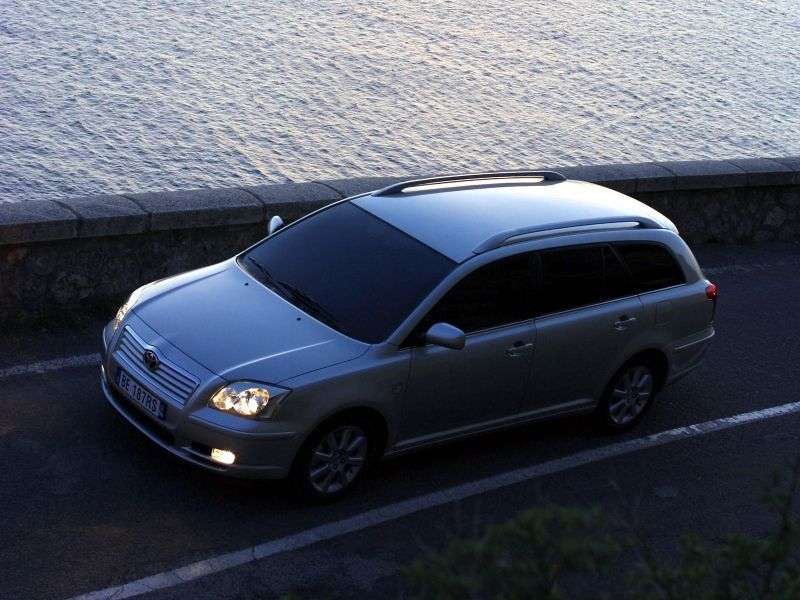Toyota Avensis 2nd generation wagon 2.2 D MT (2005–2006)