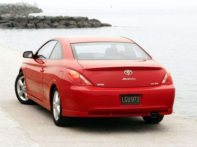 Toyota Camry Solara XV30Sport Coupe 2.4 MT (2004–2006)