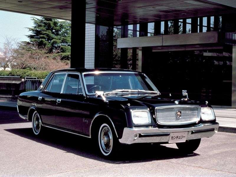 Toyota Century VG20 / 30 / 35sedan 3.0 AT (1967–1973)