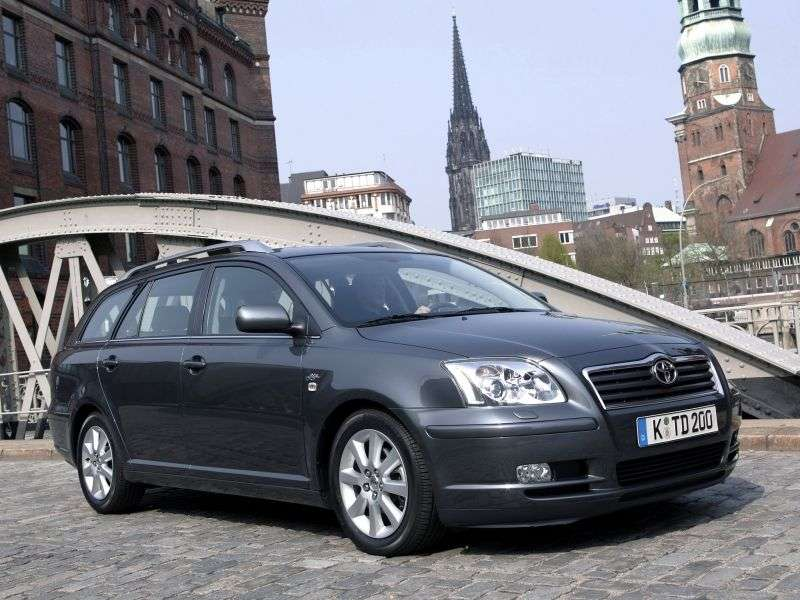 Toyota Avensis 2nd generation wagon 1.6 MT (2003–2006)