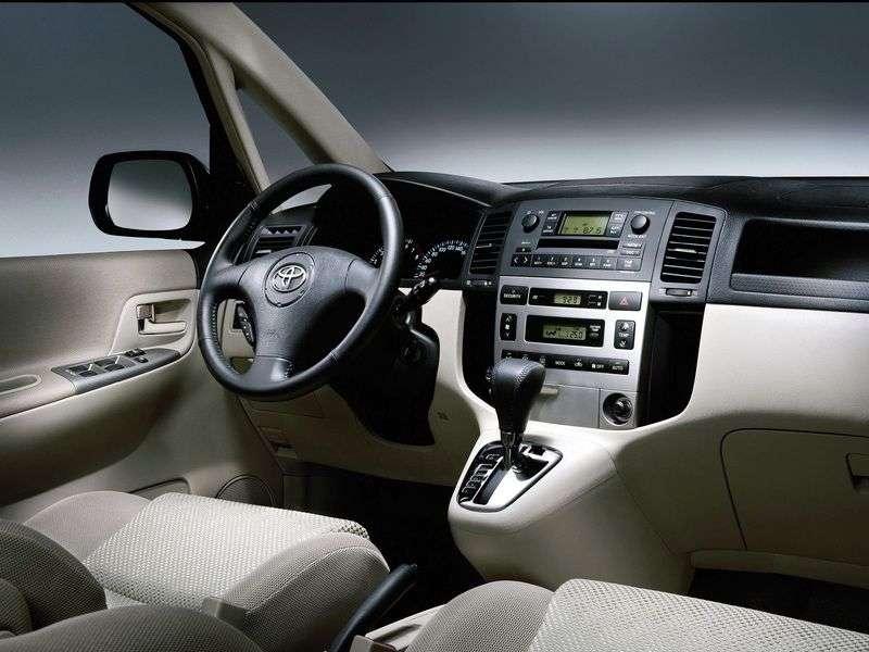 Toyota Corolla Verso 2nd generation Verso minivan 2.0 TD MT (2001–2006)