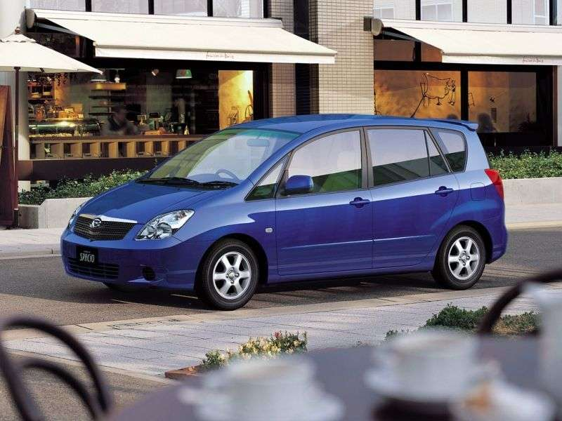Toyota Corolla Spacio 2nd generation minivan 1.8 AT 4WD (2001–2003)