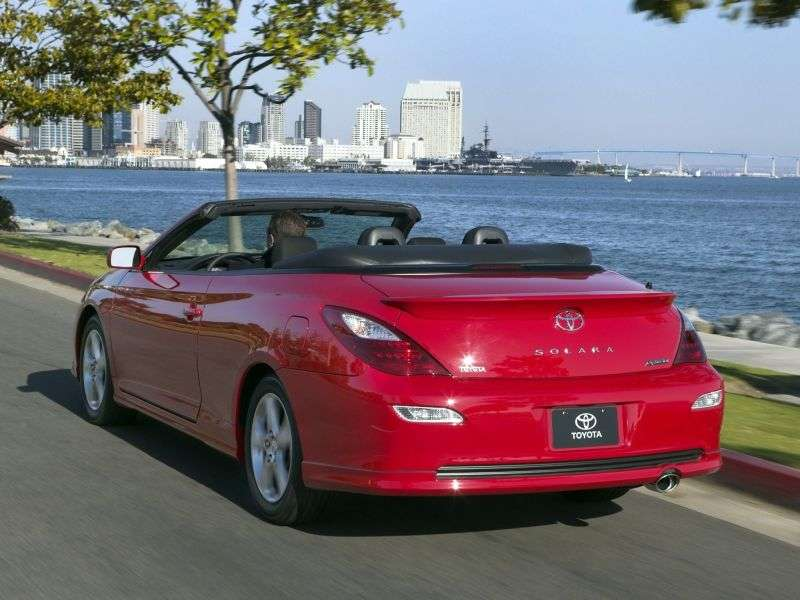 Toyota Camry Solara XV30 [restyling] Sport convertible 3.3 MMT Overdrive (2006–2009)