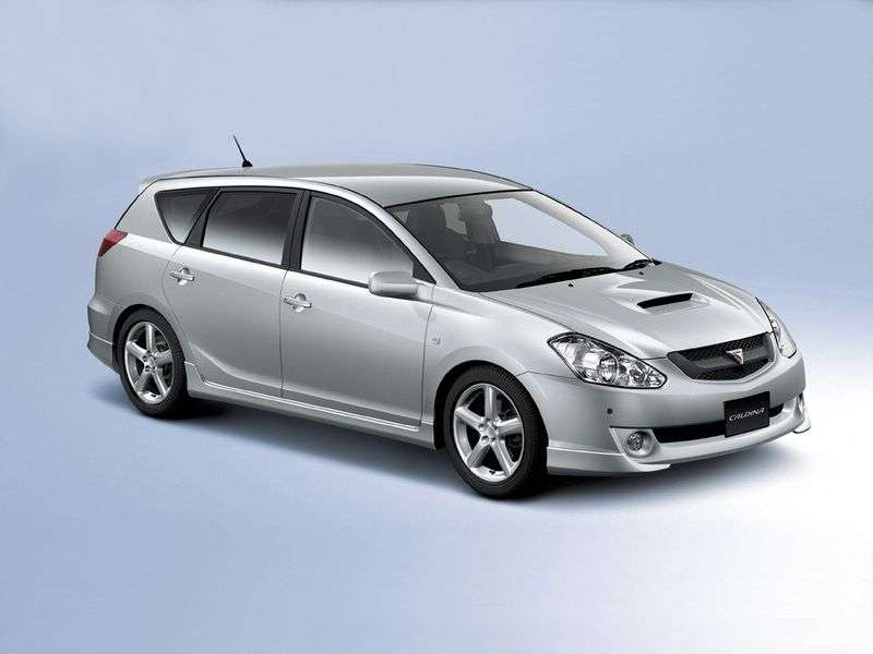 Toyota Caldina 3rd generation station wagon 2.0 AT GT FOUR (2002–2004)