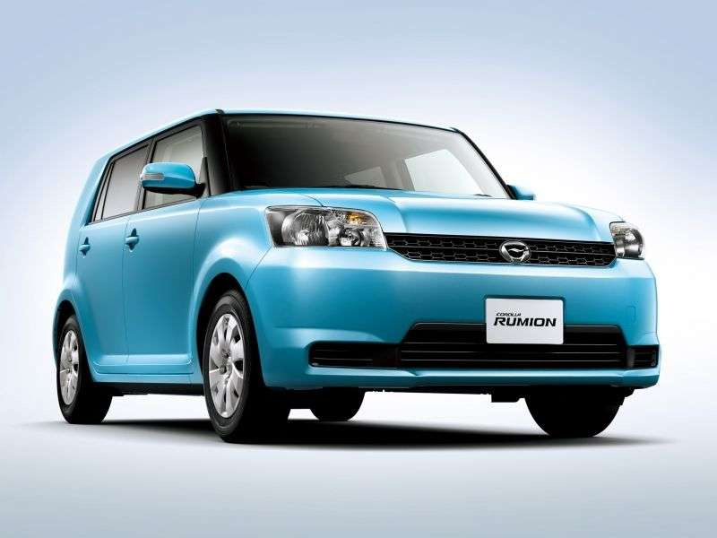 Toyota Corolla Rumion E150N [restyling] minivan 1.5 CVT (2009 – v.)