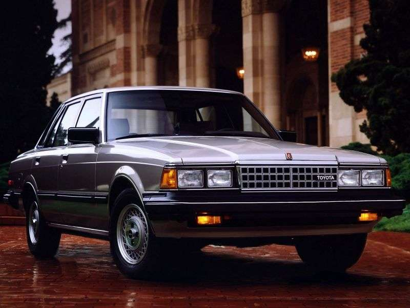 Toyota Cressida X60 [restyling] 2.8 AT sedan Overdrive (1983–1984)
