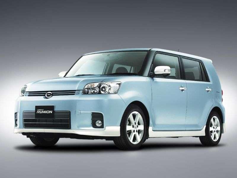 Toyota Corolla Rumion E150N Minivan 1.8 CVT 4WD (2007–2009)