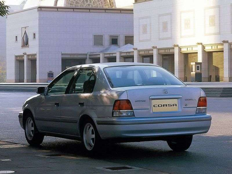 Toyota Corsa 5th generation sedan 1.3 MT (1994–1998)