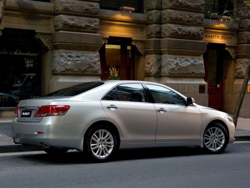 Toyota Aurion XV40 [restyled] AU spec. 4 door sedan 2.0 AT (2009–2012)