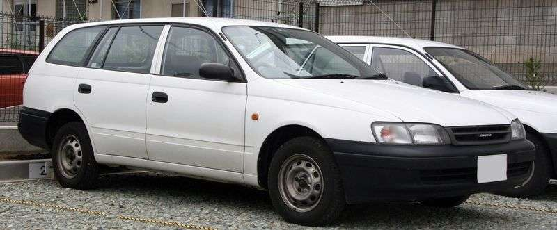 Toyota Caldina 1st generation wagon 1.8 AT (1996–1997)