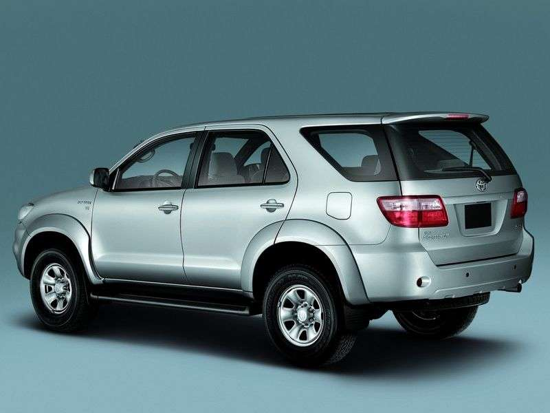 Toyota Fortuner 1st generation [restyled] SUV 2.7 AT 4WD (2008–2011)