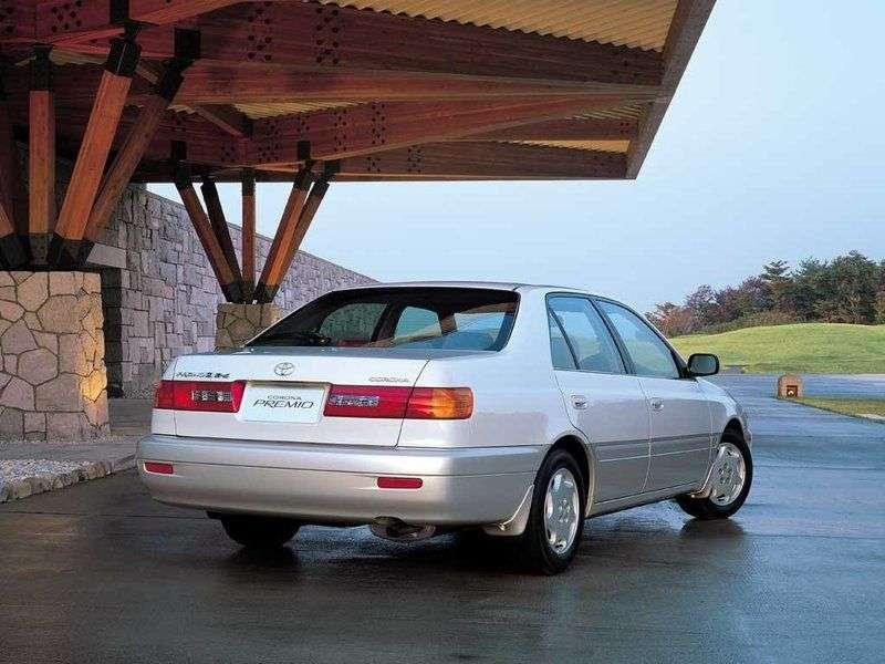 Toyota Corona T210Premio sedan 1.6 MT (1997 2001)