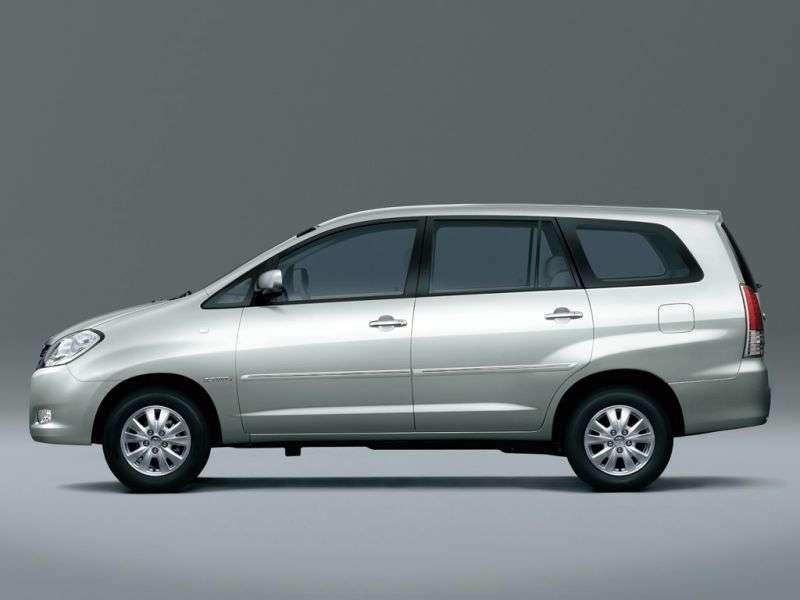 Toyota Innova 1st generation [restyled] minivan 2.5 D 4D MT 7seat (2008–2011)
