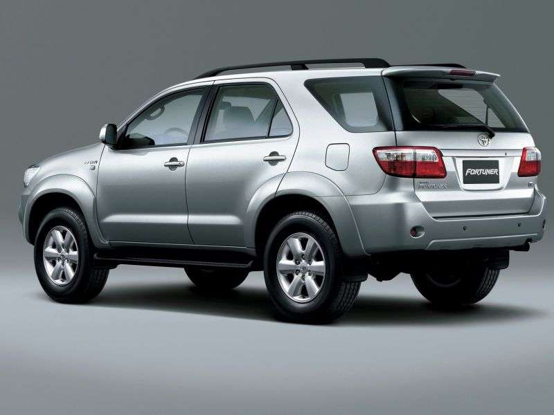 Toyota Fortuner 1st generation [restyled] SUV 3.0 D MT AWD (2008–2011)