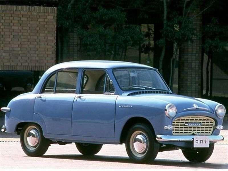 Toyota Corona T10sedan 1.0 MT (1957–1958)
