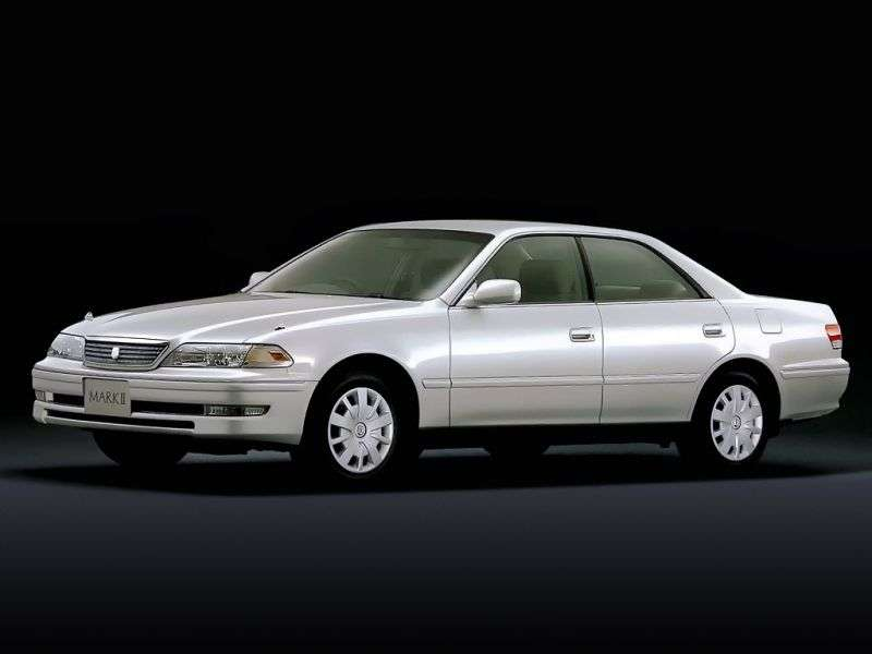 Toyota Mark II X100 [restyled] 2.5 T MT sedan (1998–2000)