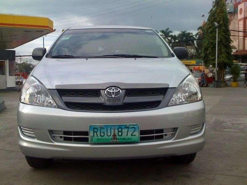 Toyota Innova 1st generation minivan 2.5 D 4D AT (2004–2008)