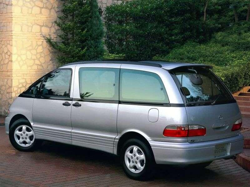 Toyota Estima 1st generation Lucida minivan 2.4 AT 4WD (1992–1999)