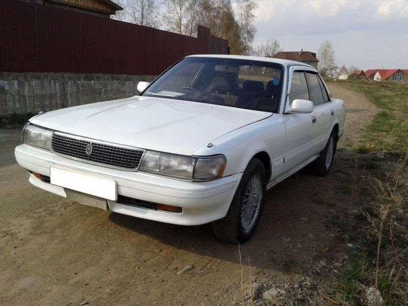 Toyota Mark II X80sedan 2.0 AT (1988 1990)