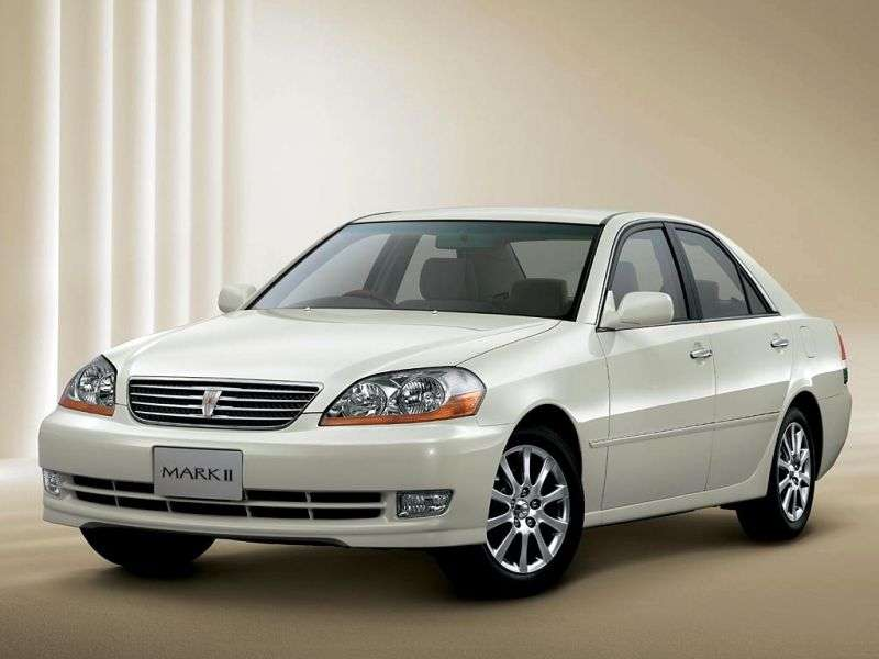 Toyota Mark II X110sedan 2.5 AT (2000–2004)