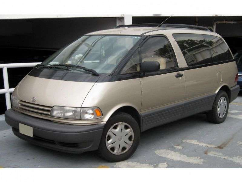Toyota Estima 1st generation 2.4 minivan AT (1990–1999)