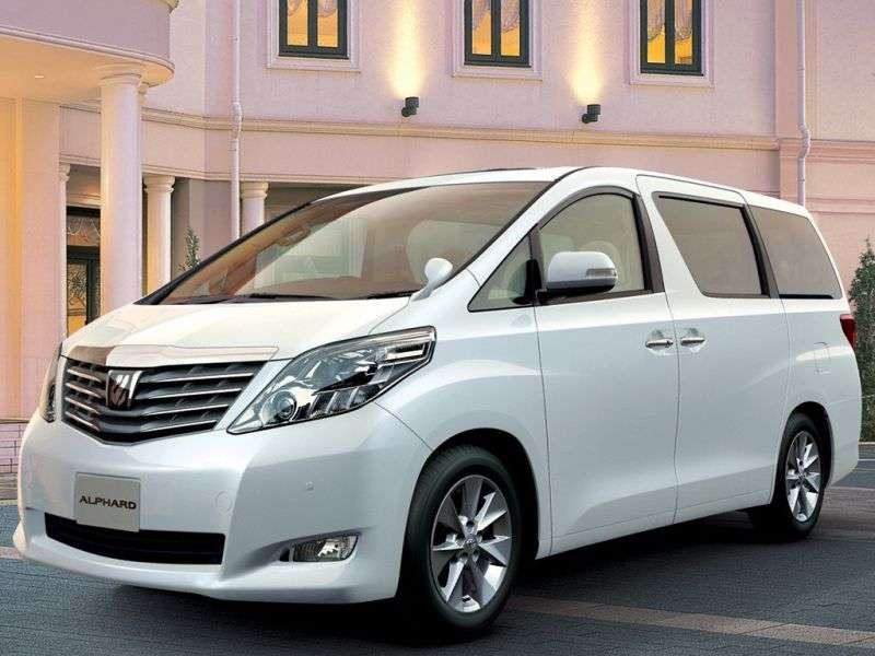 Toyota Alphard 2nd generation JDM minivan 5 dv. 3.5 AT (8 seats) (2008–2011)