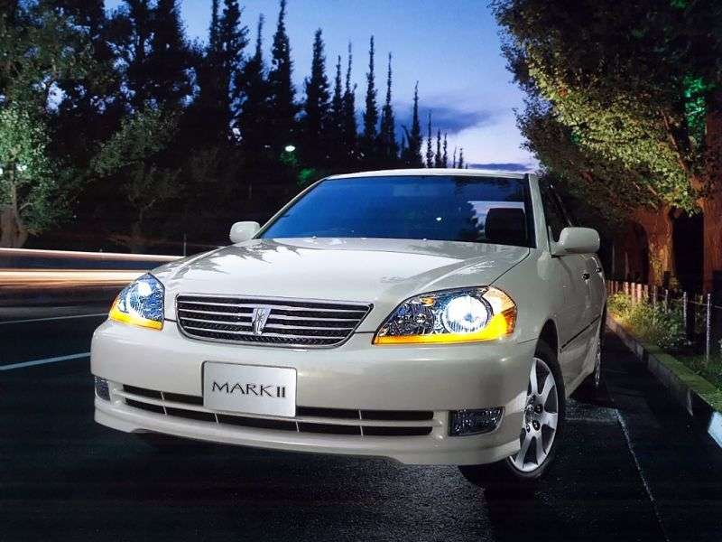 Toyota Mark II X110sedan 2.5 T AT (2000–2004)