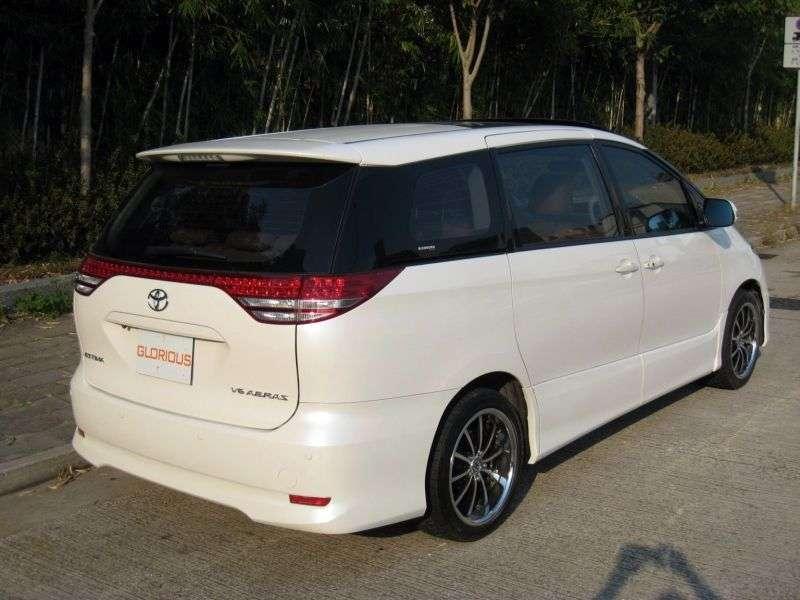 Toyota Estima 3 generation minivan 5 doors 2.4 CVT 4WD (2006 – present)