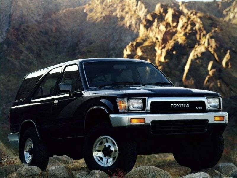 Toyota Hilux Surf 2 generation SUV 3 doors. 2.0 AT AWD (1989–1991)