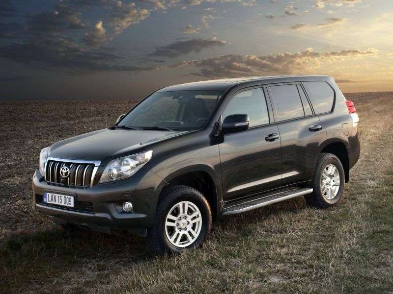 Toyota Land Cruiser Prado J150 off road 3.0 D AT 4WD (Suite) Suite (7 seats) (jubilee version) (2009 – n.)