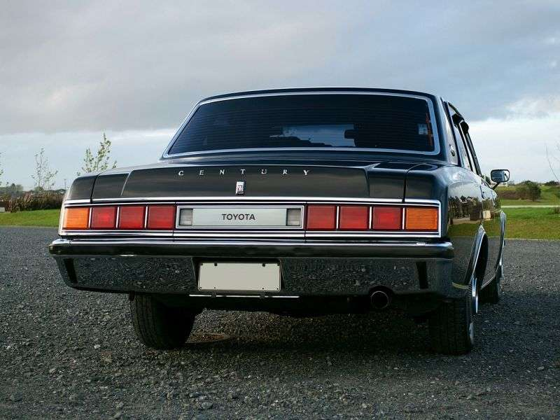 Toyota Century VG40 [restyling] 4.0 AT saloon (1982–1987)
