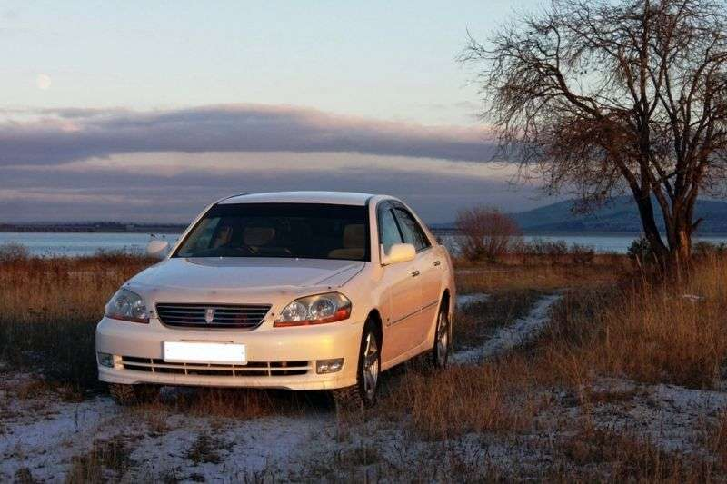 Toyota Mark II X110sedan 2.5 T MT (2000–2004)