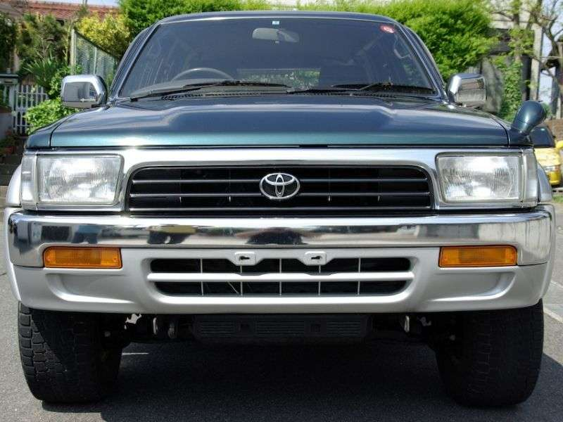 Toyota Hilux Surf 2nd generation [restyling] 3.0 MT AWD (1993–1995)