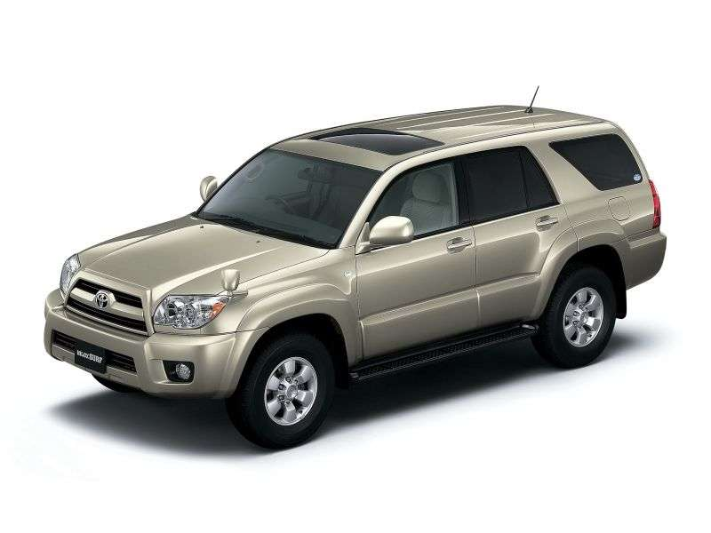 Toyota Hilux Surf 4th generation [restyling] SUV 2.7 AT (2005–2009)