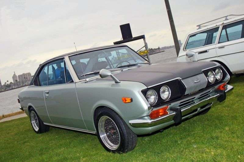 Toyota Mark II T60 / T70 [restyling] coupe 1.9 MT (1970–1972)