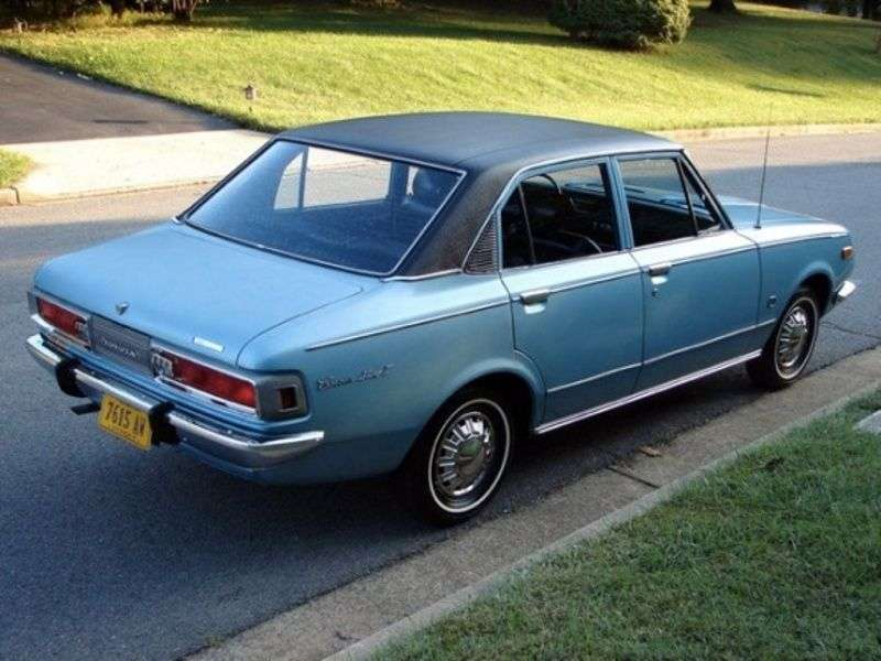 Toyota Mark II T60 / T70sedan 1.6 MT (1968–1969)
