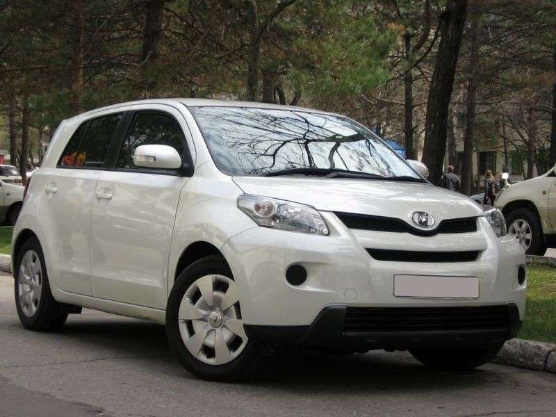 Toyota Ist 2.generacji hatchback 1.5 CVT 4WD (2007 obecnie)