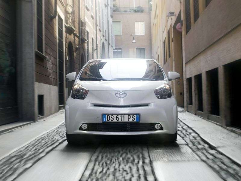 Toyota iQ 1st generation hatchback 1.33 CVT (2009 – n.)