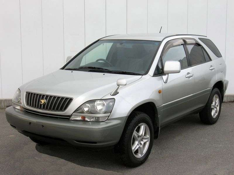 Toyota Harrier 1st generation crossover 3.0 AT 4WD (1997–2003)