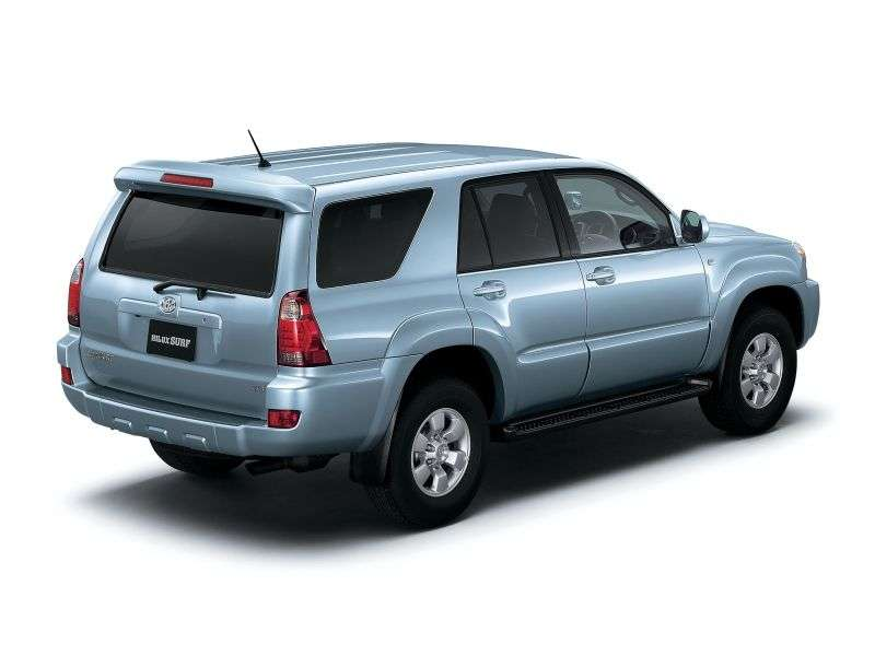 Toyota Hilux Surf 4th generation [restyling] SUV 3.4 AT AWD (2005–2009)
