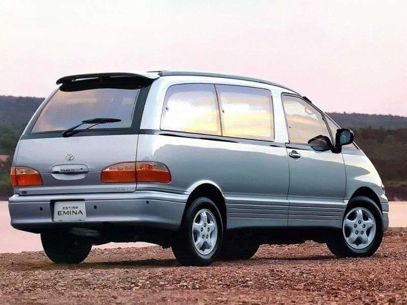 Toyota Estima 1st generation Emina 4 doors minivan 2.4 MT 4WD (1992–1999)