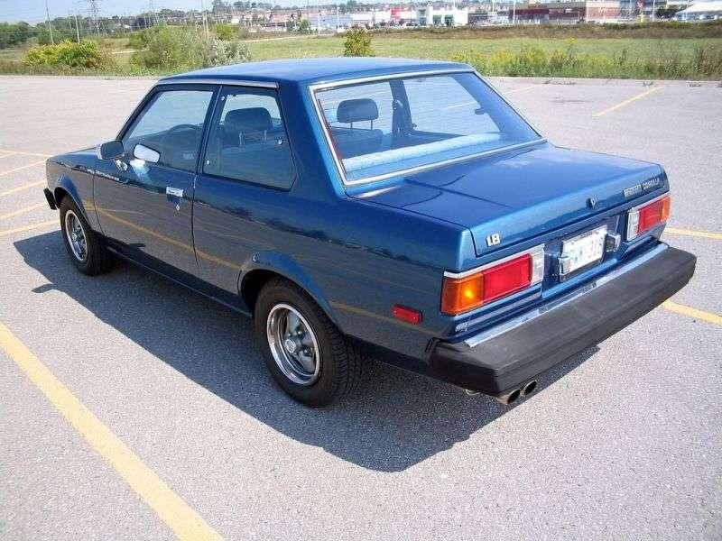 Toyota Corolla E70sedan 2 dv. 1.3 MT (1979–1981)
