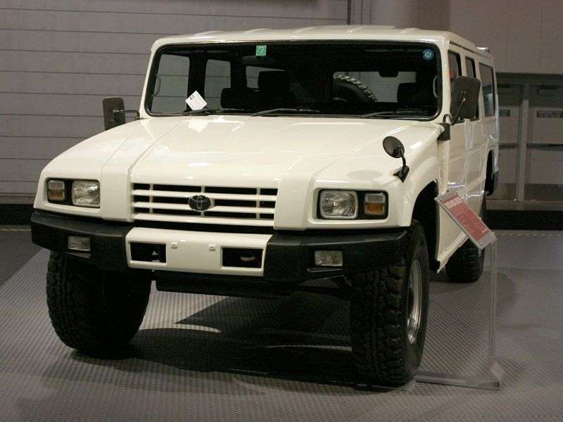 Toyota Mega Cruiser BXD20 ATV 4.1 TD AT (1995–2001)