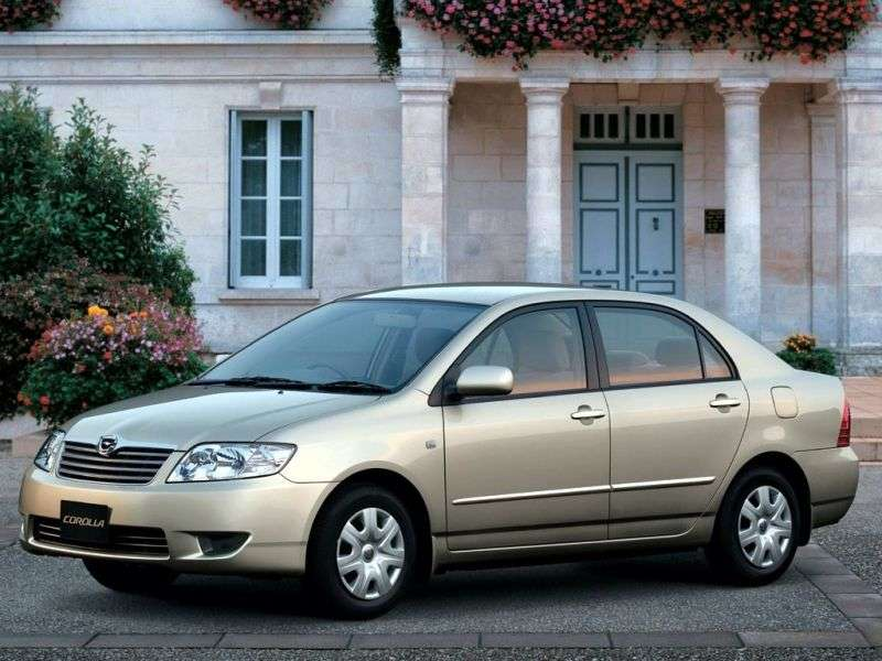 Toyota Corolla E130 [restyling] JDM sedan 4 doors 1.5 AT 4WD (2004–2006)