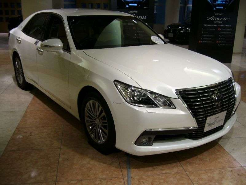 Toyota Crown S210JDM 4 door sedan. 3.5 AT (2012 – n. In.)