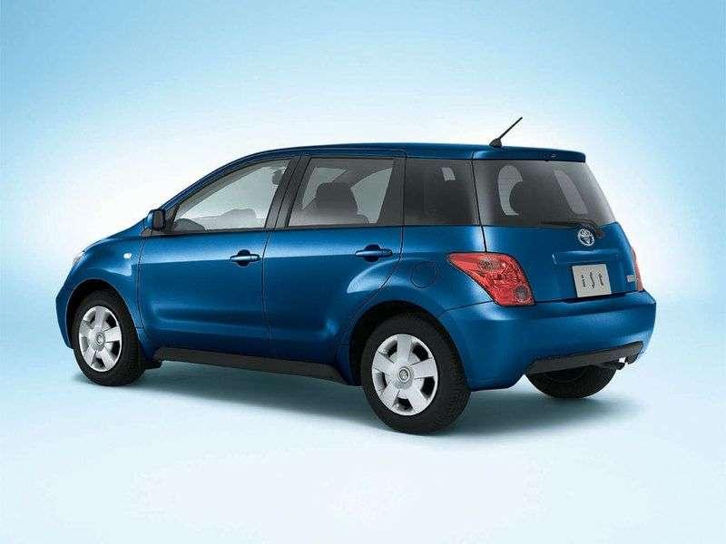 Toyota Ist 1.generacji hatchback 1.5 AT (2002 2005)