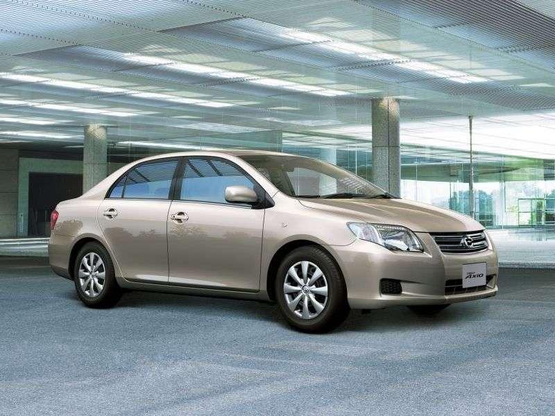 Toyota Corolla Axio E140sedan 1.8 CVT (2006–2008)