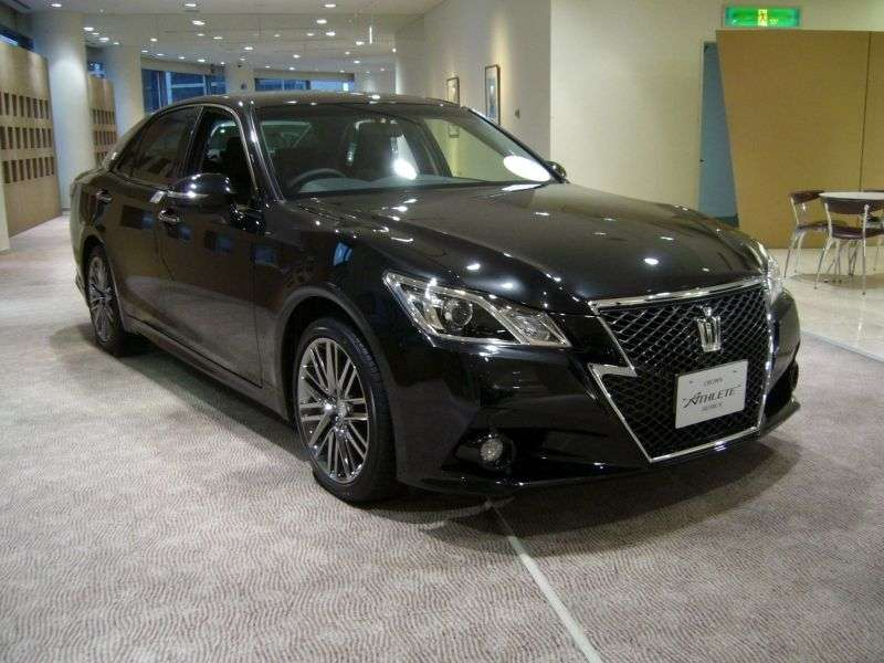 Toyota Crown S210JDM 4 door sedan. 2.5 AT (2012 – n. In.)